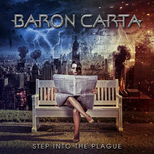Baron Carta Step Into The Plague Cover