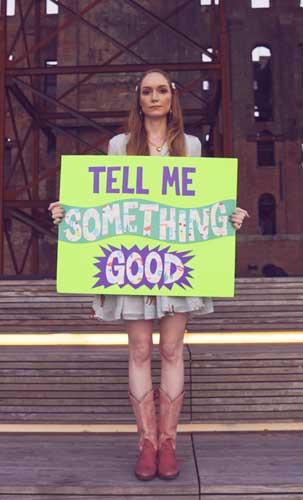 Tell Me Something Good Promo Photo